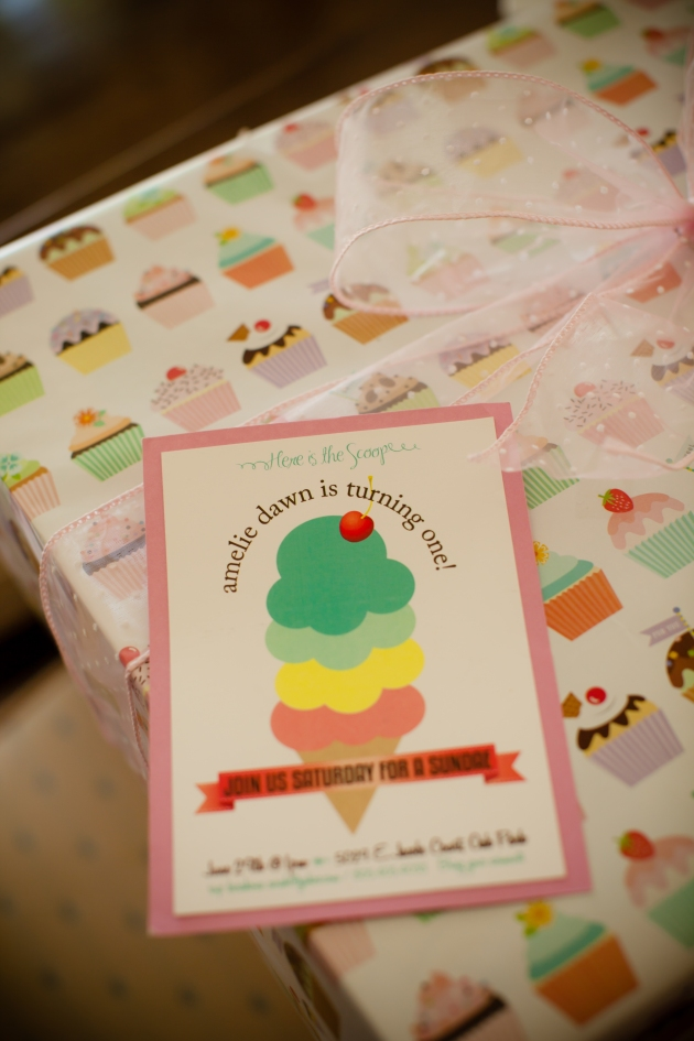 made her invitations by hand