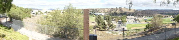 Panoramic view from the Zoo