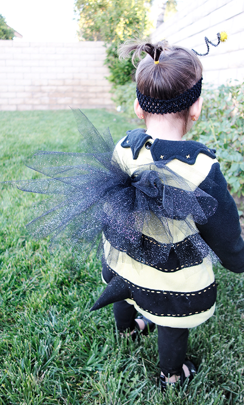 diy bumble bee costume wings