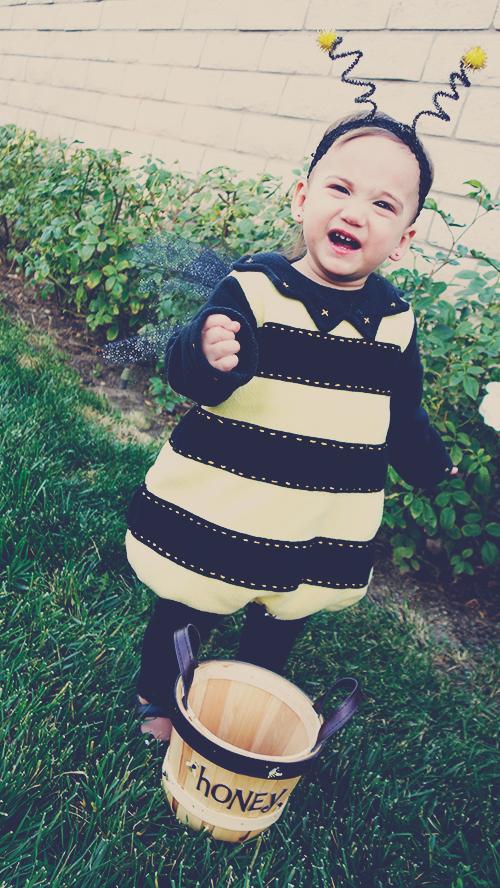 diy bumble bee halloween costume