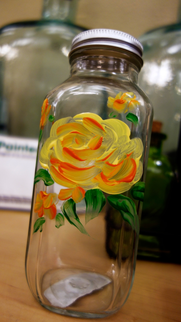 painted-glass-jar